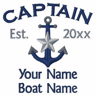 Capitán personalizado Star Anchor del AÑO y de los Sudadera