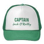 Capitán personalizado verde gorra