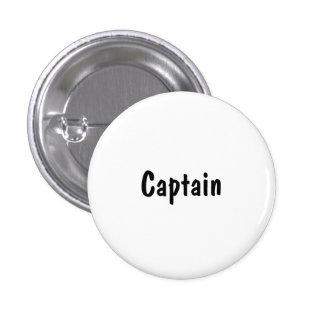 Capitán Pin Redondo De 1 Pulgada