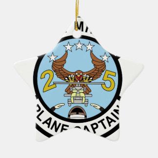 Capitán plano de la marina de guerra MH-60S Ornamento Para Reyes Magos