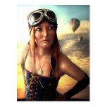 Capitán Postcard del dirigible Tarjetas Postales