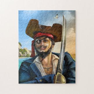 Capitán Puzzle del pirata