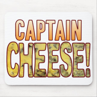Capitán queso verde mouse pad