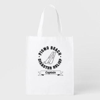 Capitán Reusable Bag de la ayuda humanitaria de la Bolsa Para La Compra