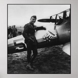 Capitán Rickenbacker -- Frontera Póster
