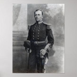 Capitán Roberto Falcon Scott Póster