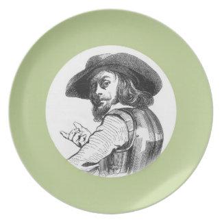Capitán Rolando Plato De Cena