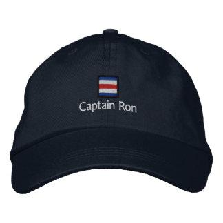 Capitán Ron Gorra De Béisbol Bordada