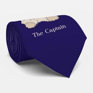 Capitán salado del perro de la nave corbata