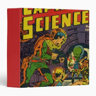 "Capitán Science Carpeta 1 1/2"""