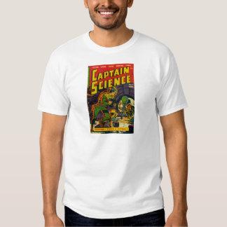 Capitán Science Playeras