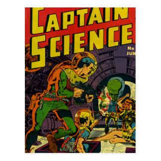 Capitán Science Postales