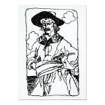 Capitán Sketch del pirata del vintage de Howard Comunicados