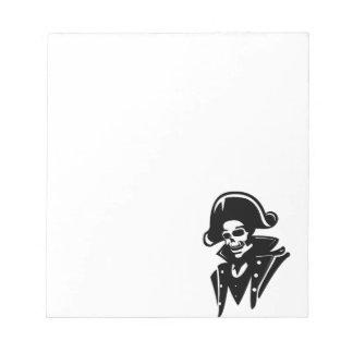 Capitán Skull del pirata Blocs