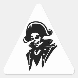 Capitán Skull del pirata Colcomanias De Triangulo