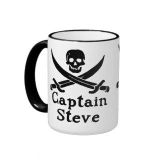 Capitán Steve Taza A Dos Colores