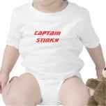 Capitán Stinky Trajes De Bebé