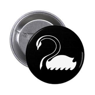 Capitán Swan Flag Button Pins