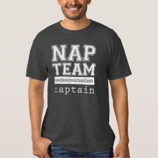 Capitán T-Shirt o camiseta del equipo de la siesta Playera