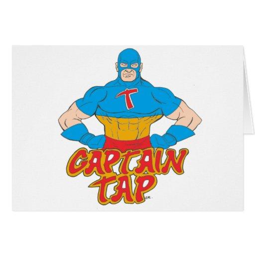 ¡Capitán Tap! Tarjeta De Felicitación