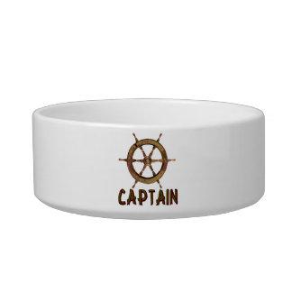 Capitán Tazón Para Comida Gato