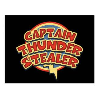 Capitán Thunderstealer Tarjeta Postal