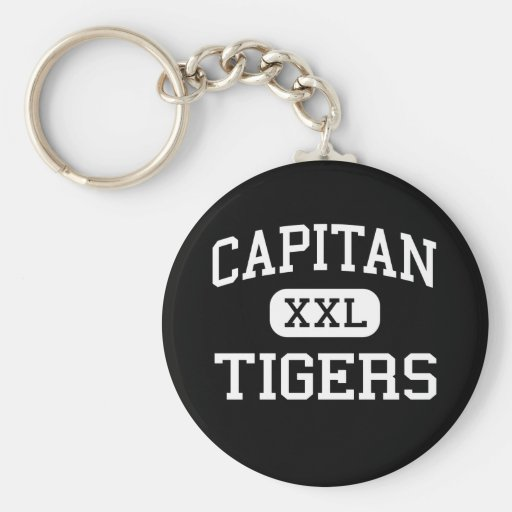 Capitan - Tigers - High - Capitan New Mexico Key Chain