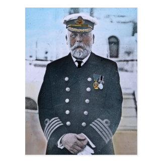Capitán titánico Edward J. Smith del RMS Tarjeta Postal