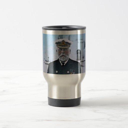 Capitán titánico Edward J. Smith del RMS Tazas De Café