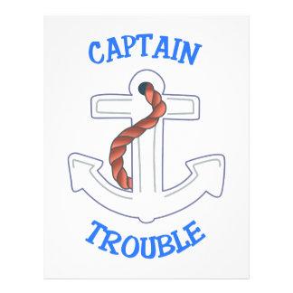 Capitán Trouble Membretes Personalizados