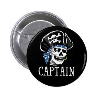 Capitán tuerto del pirata pins