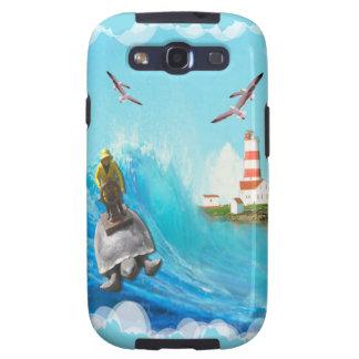 Capitán Turtle Case Samsung Galaxy S3 Fundas