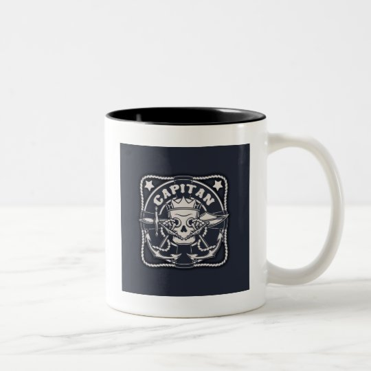 Capitan Two-Tone Coffee Mug