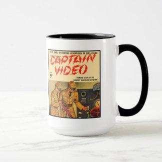 Capitán Video Taza