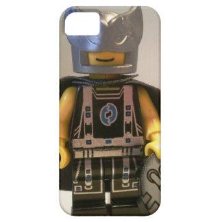 Capitán Vortex Black y traje y cabo de plata Funda Para iPhone 5 Barely There