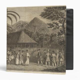 Capitán Wallis y Tahitians