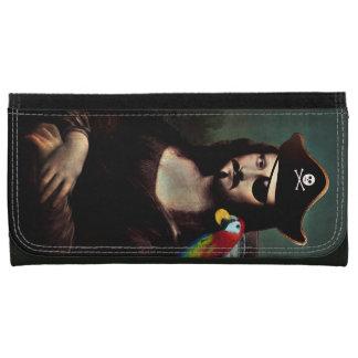 Capitán With Mustache del pirata de Mona Lisa