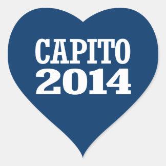 CAPITO 2014 HEART STICKER