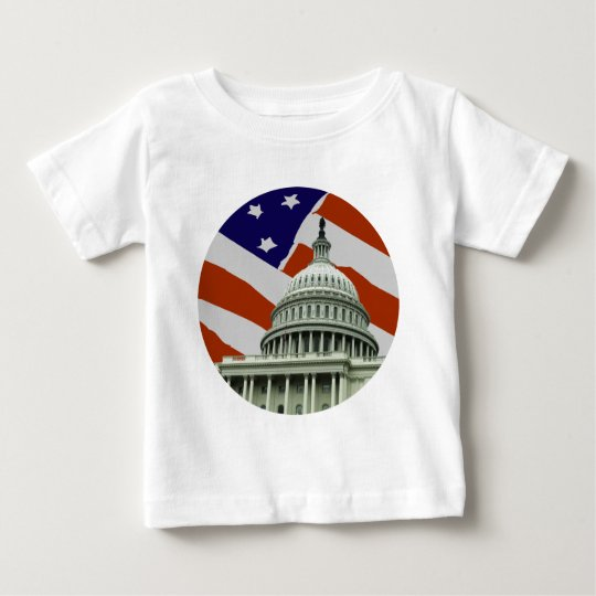 Capitol American Flag Baby T-Shirt