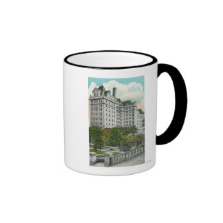 Capitol Approach View of NY Telephone Co. Bldg Ringer Coffee Mug