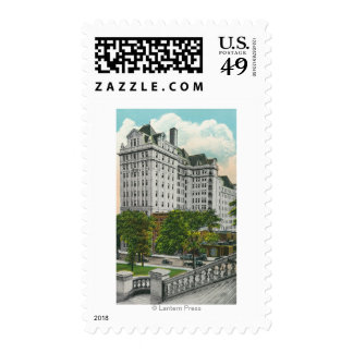 Capitol Approach View of NY Telephone Co. Bldg Stamp