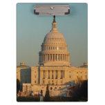 Capitol at Christmas Washington DC Holiday Photo Clipboard