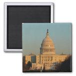 Capitol at Christmas Washington DC Holiday Photo Magnet