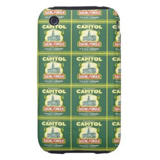 Capitol Baking Powder Label iPhone 3 Tough Case