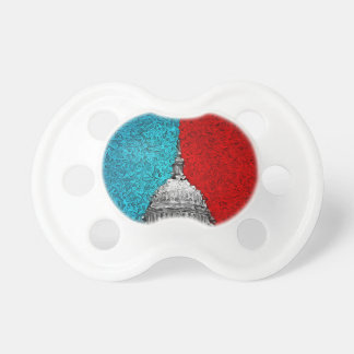 Capitol Building Abstract Pacifier