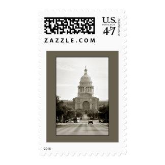 Capitol Building, Austin, TX Stamp