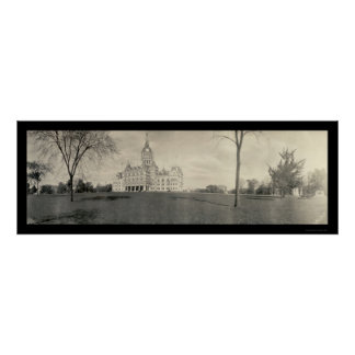Capitol Building Hartford, Connecticut Photo 1909 Poster
