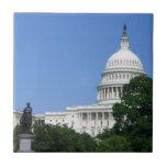 Capitol Building in Washington DC Ceramic Tile
