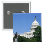 Capitol Building in Washington DC Pinback Button