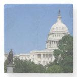 Capitol Building in Washington DC Stone Coaster
